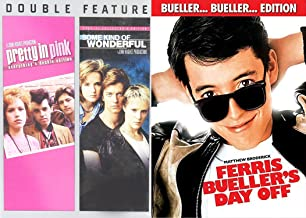 Ferris Bueller's Day Off & Some Kind of Wonderful + Pretty in Pink... Fun Comedy 80's High School Teen movie Set