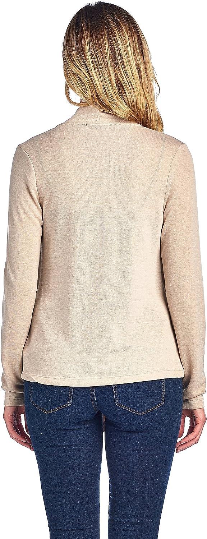 Long Sleeves Knit Cardigan Flyaway Solid Plain Basic Cardi