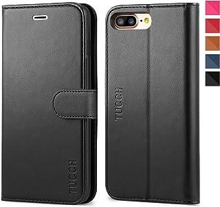 aa394a7a7da iPhone 8 Plus Wallet Case, iPhone 7 Plus Case, TUCCH Premium PU Leather Flip