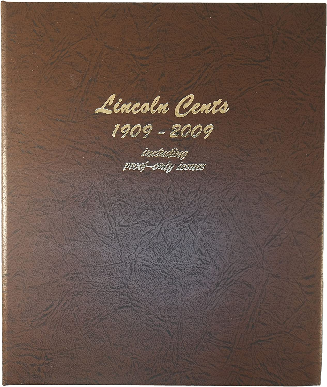 Dansco US Lincoln Cent with Proof Coin Album 1909  2009  8100