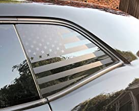 Elevated Auto Styling- American Flag Window Decal Fits Dodge Challenger 2008-2018