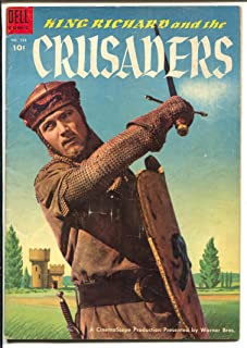 King Richard & The Crusaders-Four Color Comics #588 1954-Dell-movie edition-VG