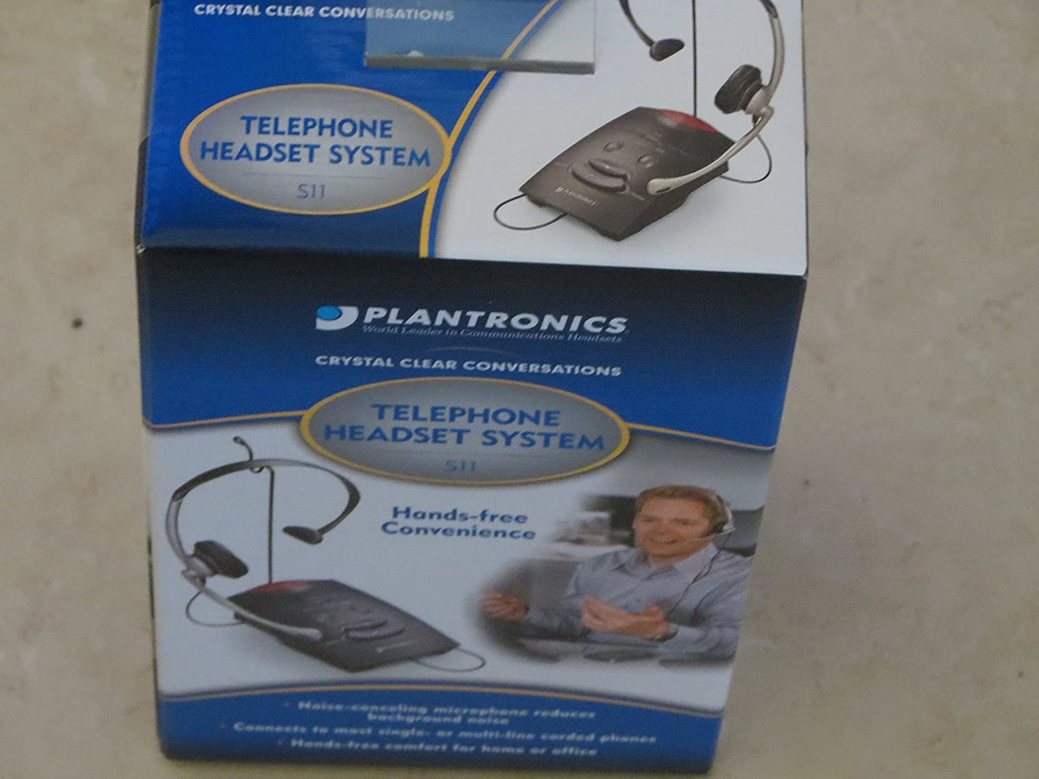 PLNS11 - S11 System Over-The-Head Telephone Headset w/Noise Canceling Microphone