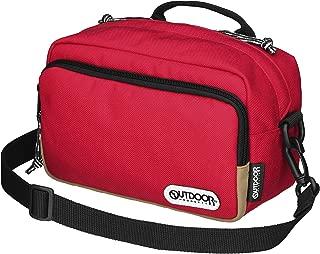 OUTDOOR PRODUCTS (アウトドアプロダクツ) カメラバッグ カメラショルダーバッグ03 2.5L レッド ODCSB03RD