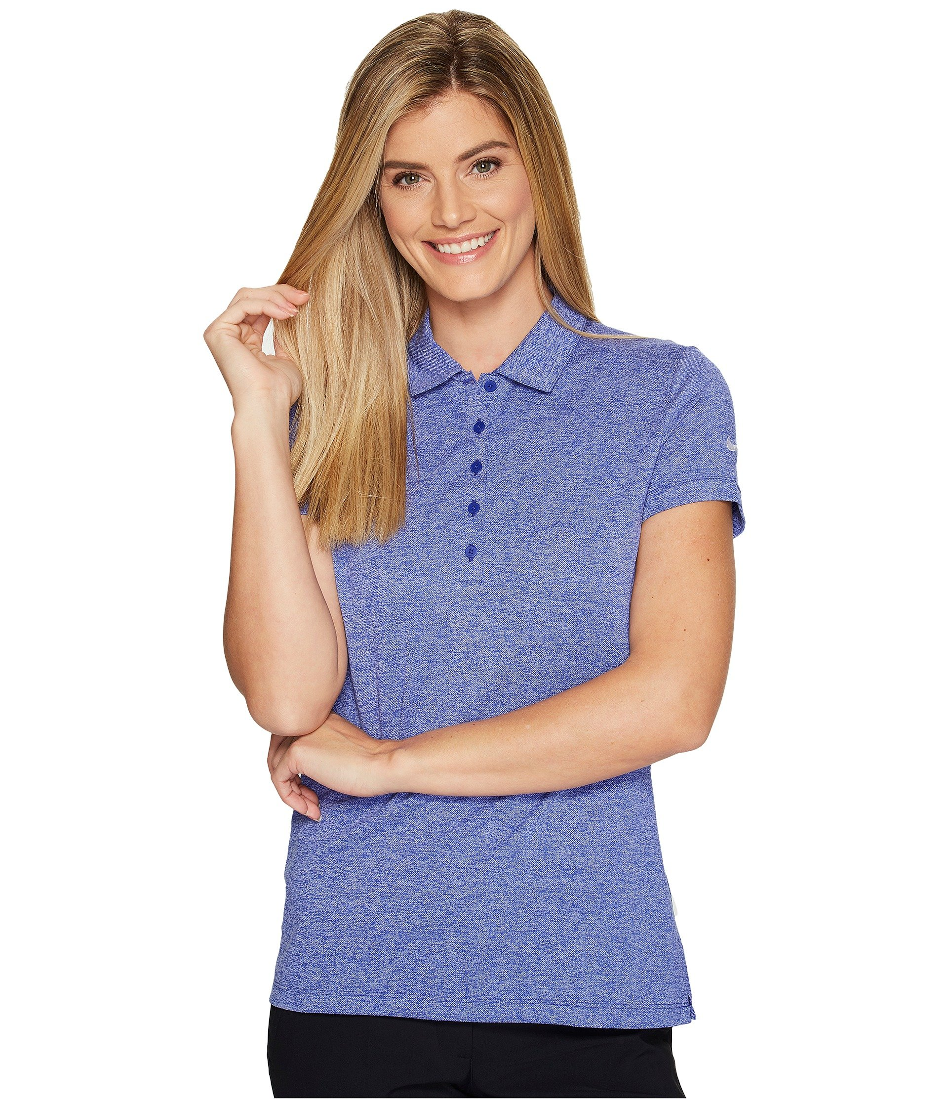 Icon Heather Polo