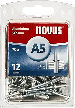 Nieten V2A Edelstahl ISO15983 Blindnieten Ø 5,0 mm mit Flachkopf