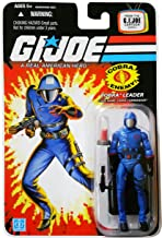 G.I. Joe 25th Anniversary Cartoon Series Cardback: Cobra Commander (Cobra Leader) 3.75 Inch Action Figure