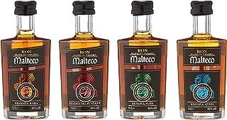 Malteco Special Giftpack 10YO/15YO/20YO/25YO l Miniatures -GB- Dark 1 x 0.2 l