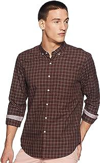 Max Men's Checkered Slim Casual Shirt