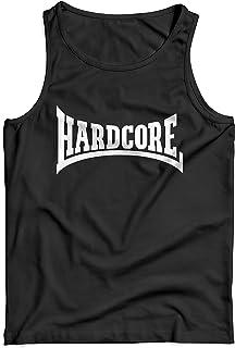 Camiseta de Tirantes Hombre Hardcore White Print - 100% algodòn