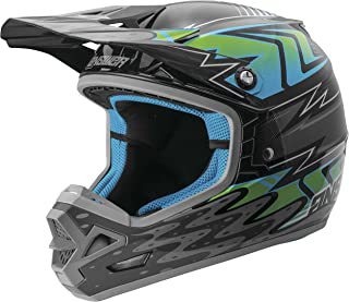 Answer Racing AR-3 Haze Men's Off-Road Motorcycle Helmets - Grey/Blue / Large