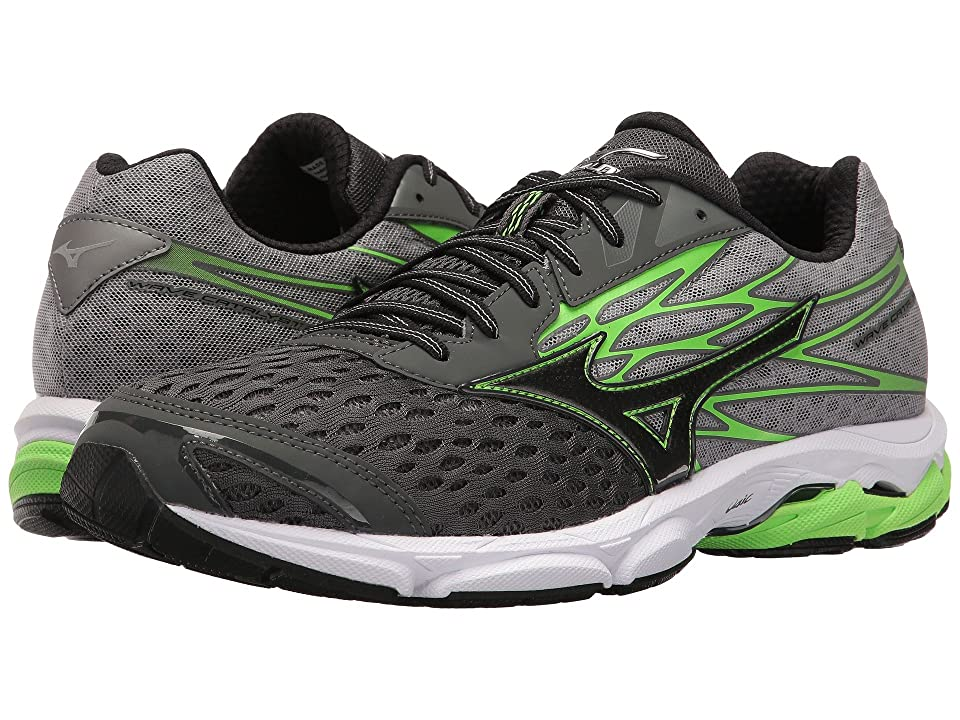 Mizuno Wave Catalyst 2 (Dark Shadow/Green Gecko/Black) Boys Shoes
