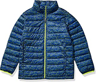 Amazon Essentials Boys Light-Weight Water-Resistant Packable Puffer Jackets Coats