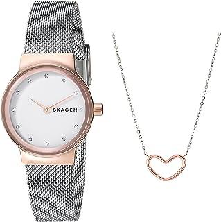 Skagen Women's Quartz Watch analog Display and Stainless Steel Strap SKW1101
