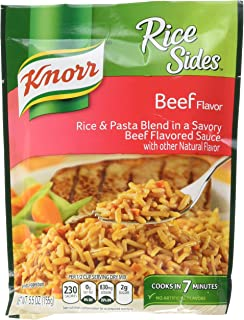 Knorr Rice Sides Dish, Beef 5.5 oz (Pack of 8)
