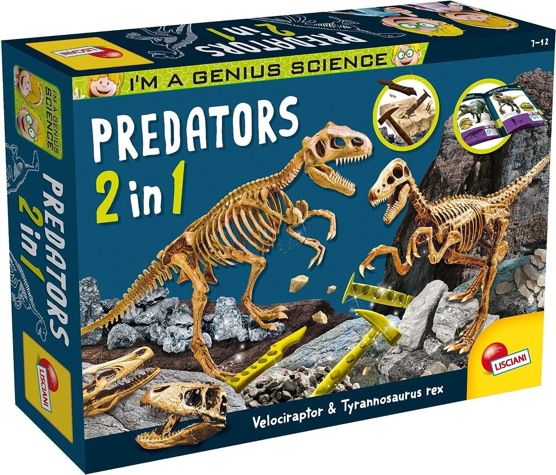 Lisciani 77236 I'm High quality new A Genius Predators Multicolour 1 Financial sales sale in 2 New