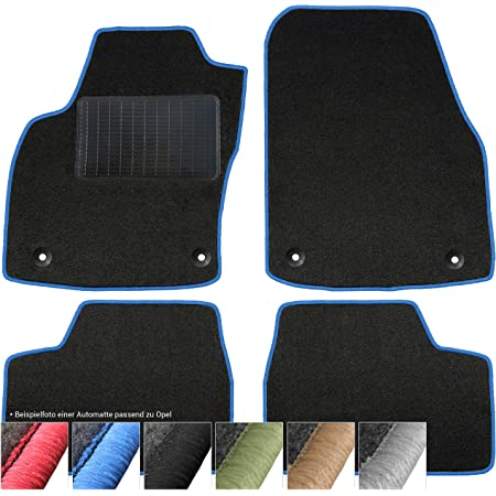 Kh Teile Fußmatten Signum Automatte Original Qualität Velour 2 Teilig Vorne Schwarz Auto
