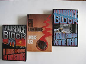 Lawrence Block 3 Book Set (Matthew Scudder Series:, A Walk Among The Tombstones, A Dance At The Slaughterhouse, The Devil Knows You're Dead)