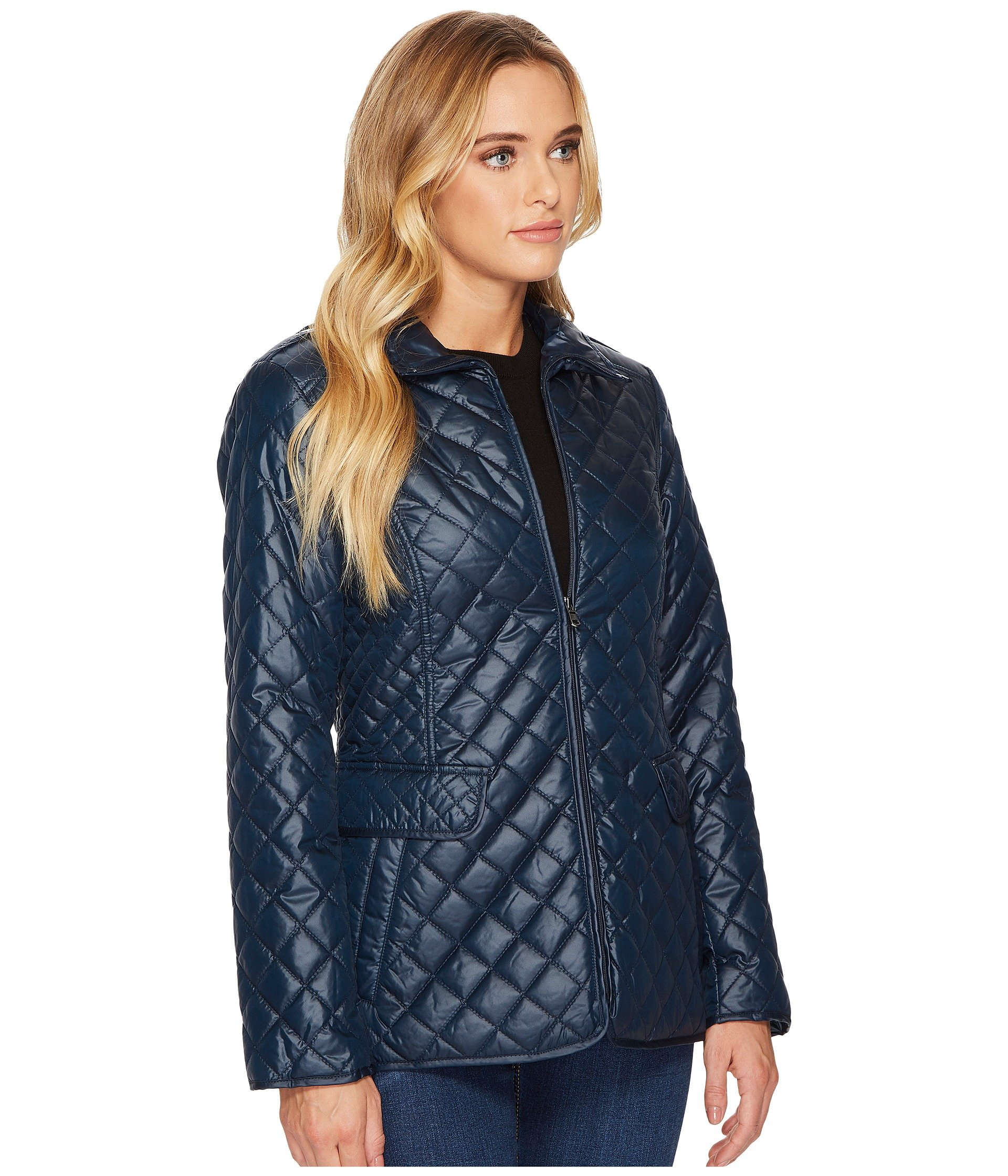 Ellen Tracy Short Quilted Jacket At 6pm