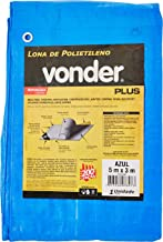 Lona Reforçada De Polietileno Vonder Azul 5 M X 3 M
