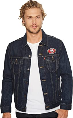 49ers Sports Denim Trucker