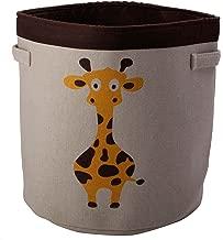 Boxmantra Large Laundry/Toy Storage Basket (Height: 45cm Width: 42cm) (Yellow)