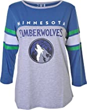 14-16 Outerstuff NBA NBA Youth Boys Minnesota Timberwolves Tactical Stance Long Sleeve Performance Tee Youth Large Navy