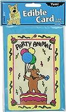Crunchkins 1028 Edible Crunch Card, Party Animal