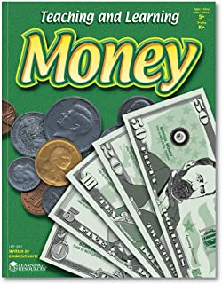 Learning Resources Teaching and Learning Money Activity Book, Counting/Sorting, Grades 4+