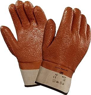 Ansell 23173 Winter Monkey Grip Vinyl-Coated, Foam-Insulated Gloves, 11