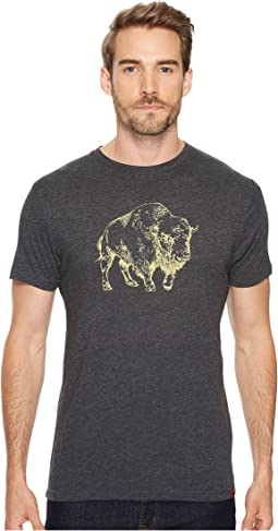 Mountain Khakis - Bison Illustration T-Shirt