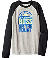 adidas Kids - Boss On The Court Tee (Big Kids)