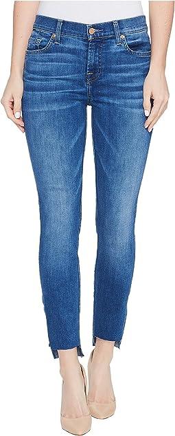 The Ankle Skinny Jeans w/ Step Hem in Bella Heritage
