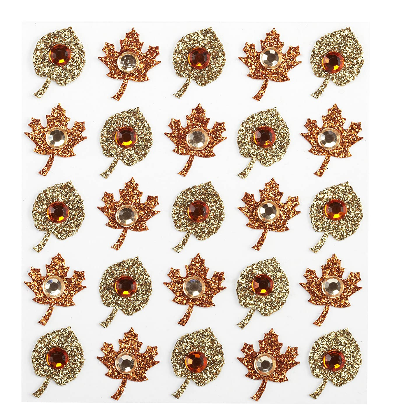 Jolee's Boutique Dimensional Stickers, Fall Leaves
