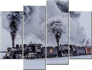 Best original steam train paintings for sale Reviews