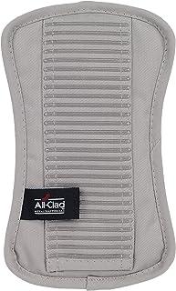 All-clad textiles Premium Collection peso pesado 100% algodón de sarga y silicona, soporte de olla titanio