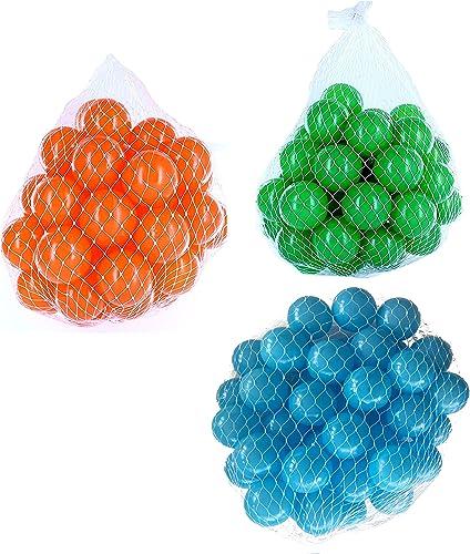 para proporcionarle una compra en línea agradable Pelotas para pelotas baño variadas variadas variadas Mix con turquesa, verde y naranja Talla 6000 Stück  minoristas en línea
