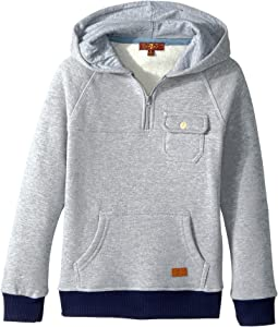 7 For All Mankind Kids - Hoodie (Little Kids/Big Kids)