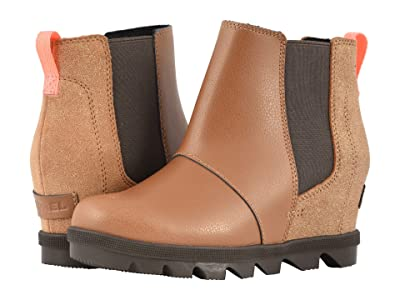 SOREL Kids Joan of Arctictm Wedge II Chelsea (Little Kid/Big Kid) (Camel Brown/Cordovan) Girls Shoes