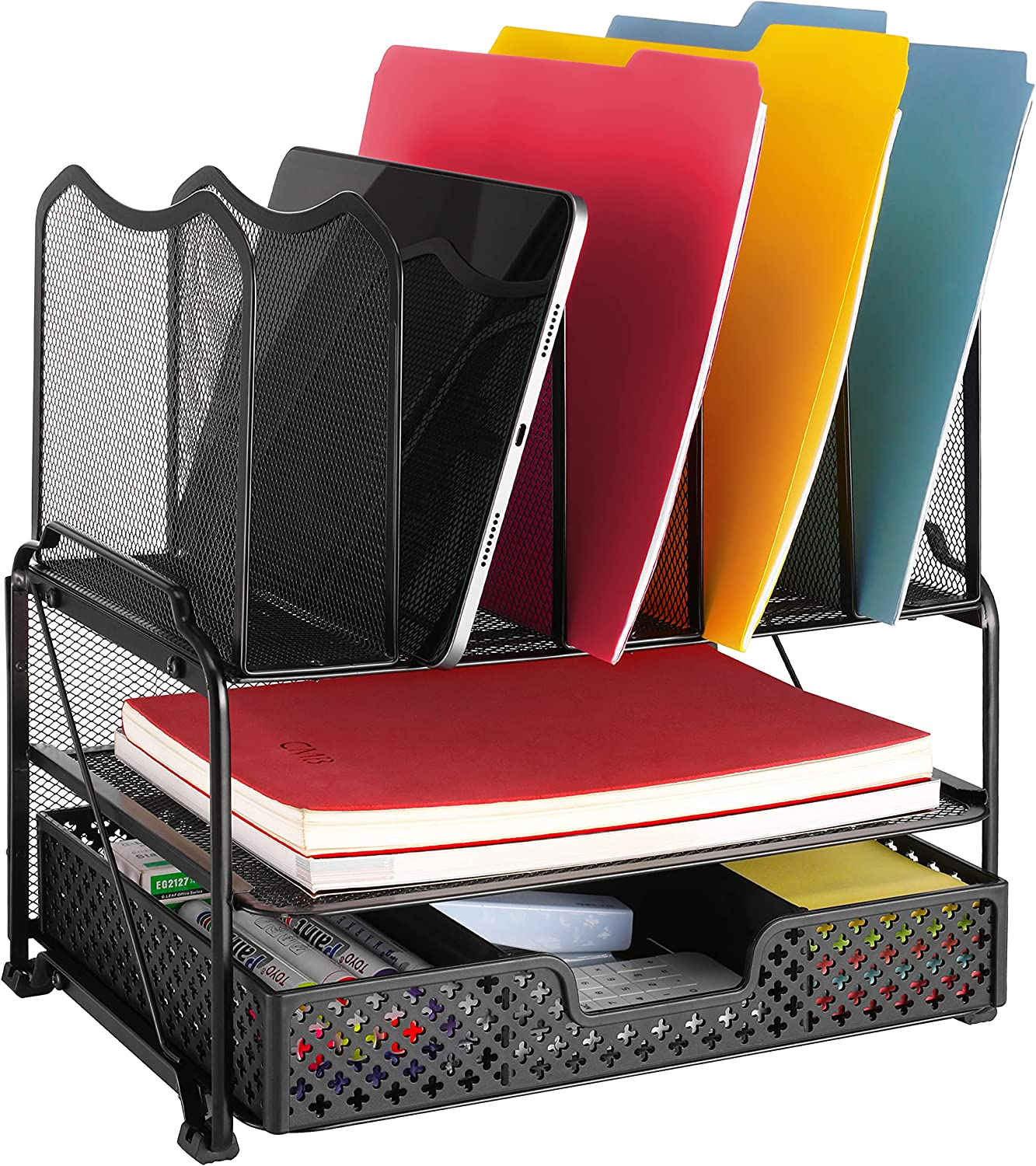 Vontreux 5-Section Desk San Francisco Mall File Organizer with for Drawer H Virginia Beach Mall Sliding