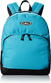 Everest Classic Backpack with Front Organizer, Turquoise, One Size