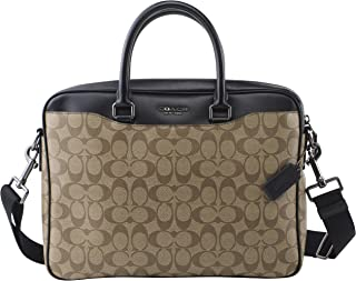 coach laptop briefcase
