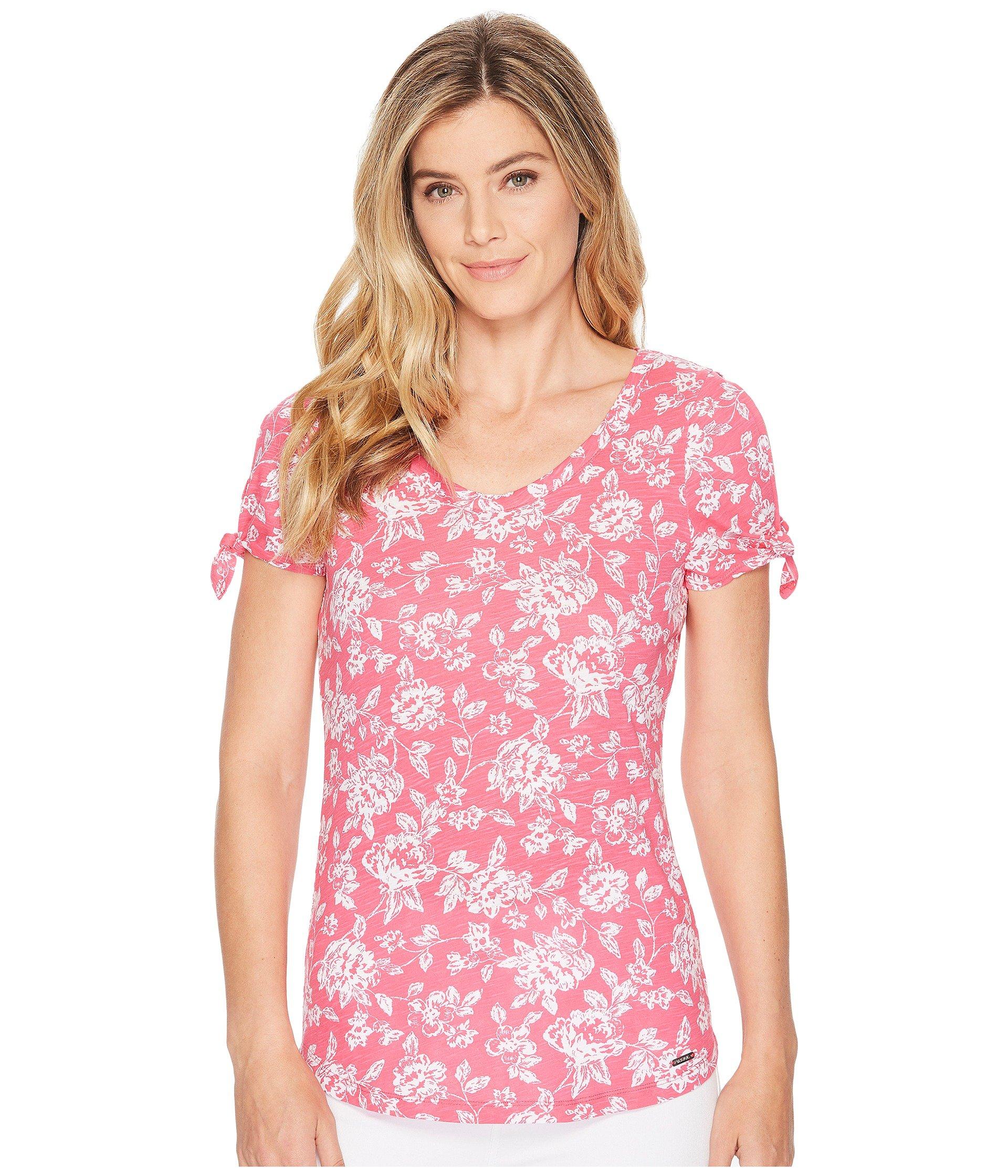 Blusa para Mujer U.S. POLO ASSN. Bandana Floral Blouse  + U.S. POLO ASSN. en VeoyCompro.net