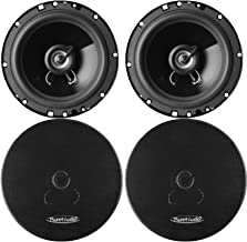 "Planet Audio TRQ622 Torque 6.5"" 2-Way 250 Watts Full Range Car Speaker (2 pairs) photo"