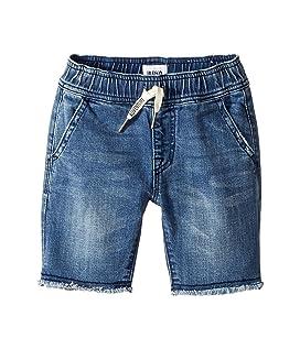 Denim Pull-On Shorts in Dry Blue Wash (Toddler/Little Kids/Big Kids)