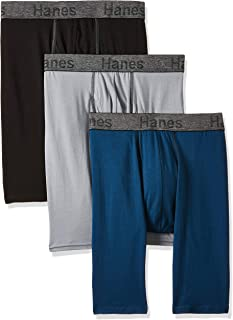 Men's 3-Pack Comfort Flex Fit Ultra Soft Stretch Boxer...