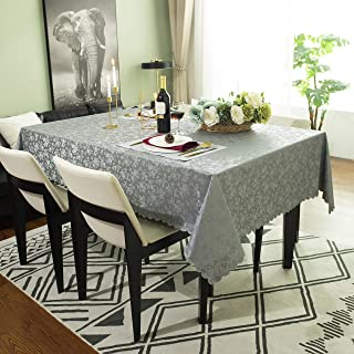 Sponsored Ad - Hosonson Vinyl PU Rectangle TableCloth 60x84 Inch- Easy Care Waterproof Oil-Proof Stain ProofDecoration...