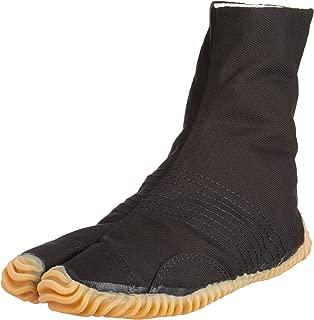 MATSURI Jog Men's 6 Black Cotton Tabi Boots