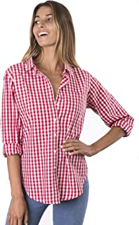Best red and white checkered button down Reviews