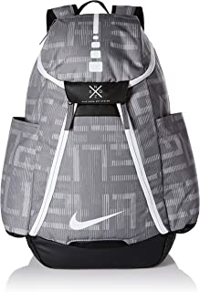Hoops Elite Max Air Basketball Backpack Gunsmoke/Black/White